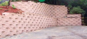 alpharetta modular block retention wall