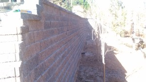 cumming retaining wall