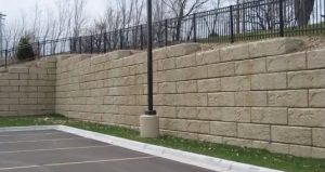 Cumming Commercial Retaining Wall